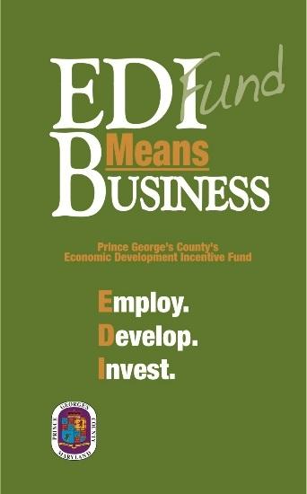 Prince George's County: EDI Fund Application